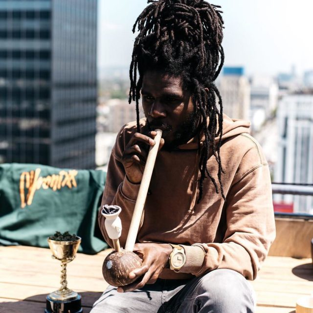 Happy 420 from the steam minista! Wa gwan chronixxmusic herbalisthellip